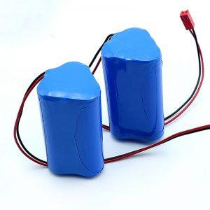 Tibbi cihaz üçün yenidən doldurulan Li-ion 3S1P 18650 10.8v 2250mah Lityum ion batareyası