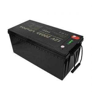 Yeni Dizayn Şarj Edilən Batareyalara Baxımsız LiFePO4 12V 200Ah Lityum İon Batareyalar