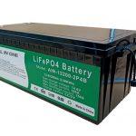 BÜTÜN BİR 2.56KWh 2000 dövrü elektrikli vasitə üçün 12v batareya lifepo4 200ah lityum paketi