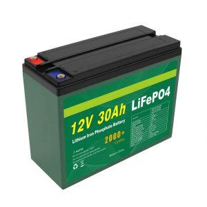 OEM Akkumulyatoru 12V 30Ah 4S5P Lityum 2000+ Dərin Dövrü Lifepo4 Hüceyrəsi İstehsalçısı