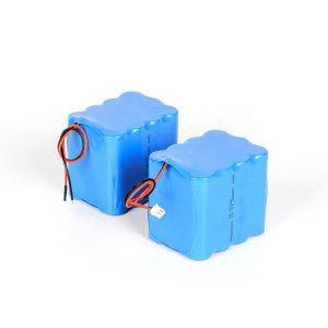 Xüsusi təkrar doldurula bilən lityum batareya 18650 yüksək boşalma 3s4p 12v li ion batareya paketi
