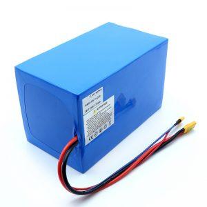 Lityum Batareya 18650 48V 51.2AH 24v 30V 60V 15ah 20Ah 50Ah Li-ion batareyaları 18650 48V Elektrik Scooter üçün Lityum ion batareyaları