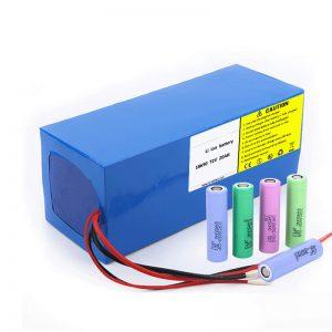Lityum Batareya 18650 72V 20Ah Elektrikli motosikllər üçün aşağı axıdma dərəcəsi 18650 72v 20ah lityum batareya paketi