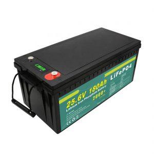 Günəş küçəsi işığı üçün təkrar doldurula bilən 24v180ah (LiFePO4) batareya paketi
