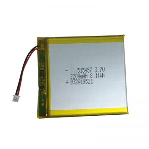 Ağıllı ev cihazları üçün 3.7V 2200mAh Polimer lityum batareyalar