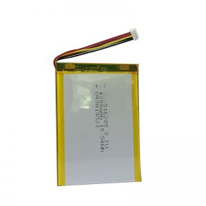 516285 3.7V 4200mAh Ağıllı ev aləti polimer lityum batareyası