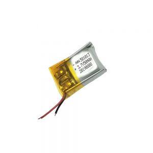 Yüksək keyfiyyətli lityum polimer batareyası 3.7V 50mAh 581013 batareyası