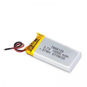 LiPO şarj olunan batareya 7866120 3.7V 10000mAh / 3.7V 20000mAH / 7.4V 10000mAh