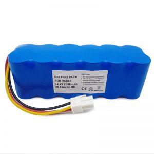 navibot SR8750 DJ96-00113C VCA-RBT20 üçün yüksək keyfiyyətli 14.4v əvəzedici tozsoran batareyası